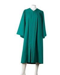 Emerald Green Graduation Gown