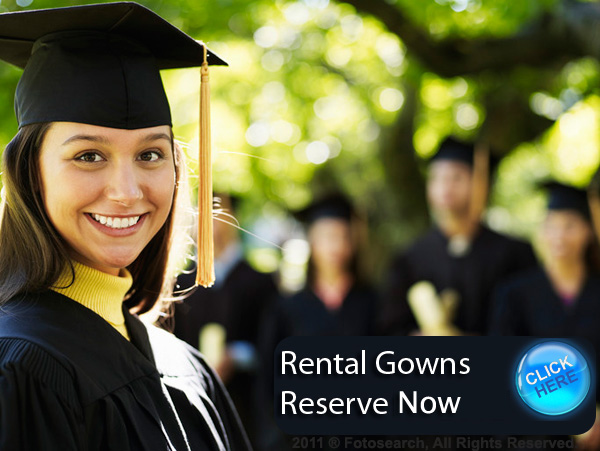 Graduation Gowns Rental