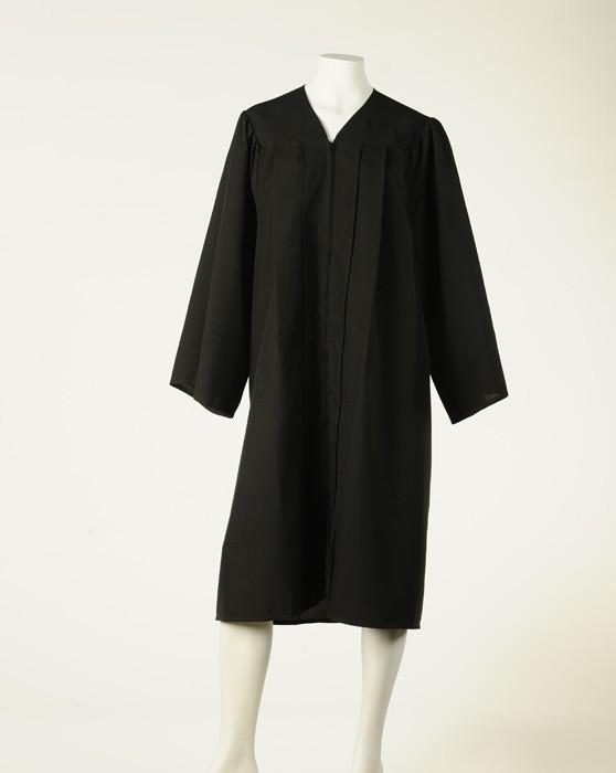 Graduation Gown  - Black