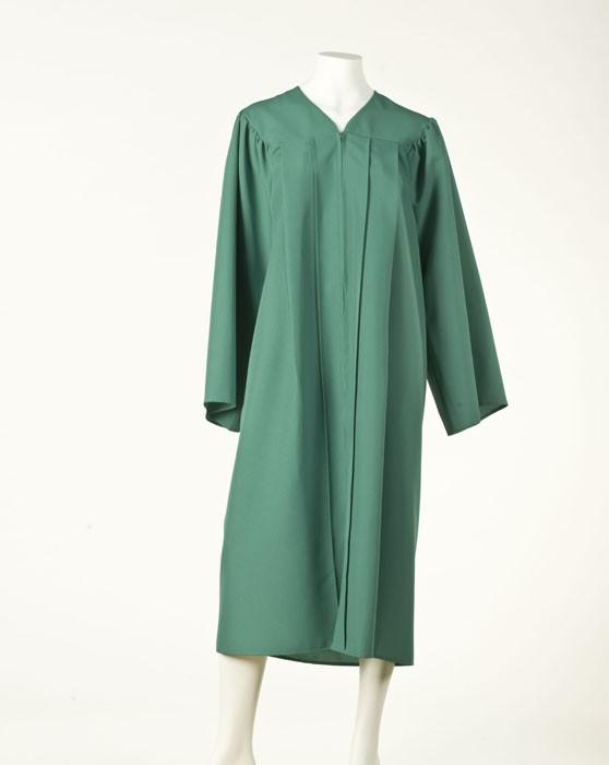 Graduation Gown - Emerald Green