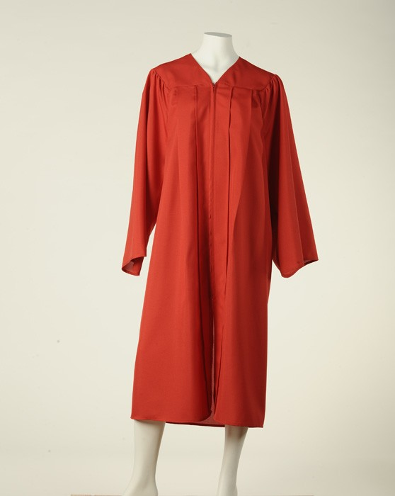 Graduation Gown - Fireman Red