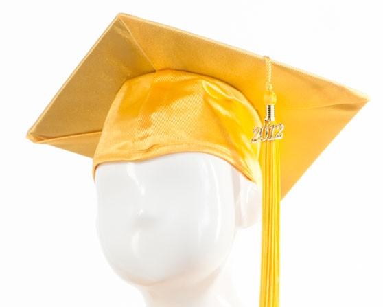 Graduation Cap - Gold