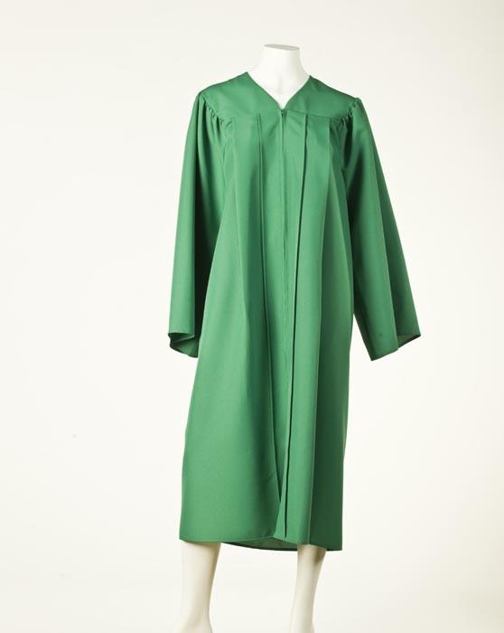 Graduation Gown - Light Emerald Green