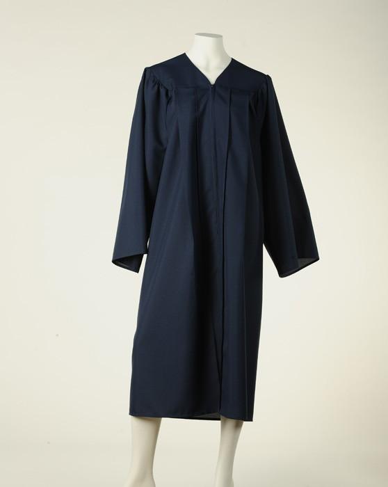Graduation Gown - Navy Blue