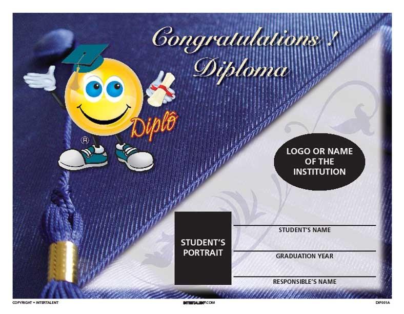 Diploma Scroll - Daycare to Kindergarten