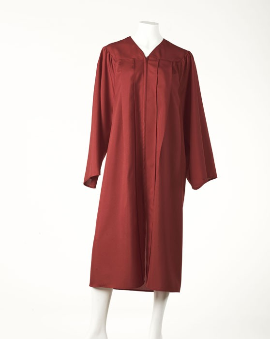 Graduation Gown - Olympic Red