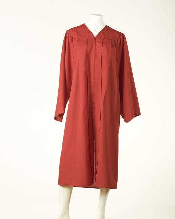 Graduation Gown - Light Red