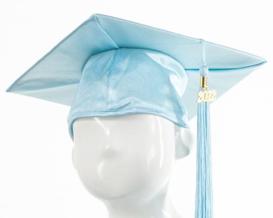 Graduation Cap -Sky Blue