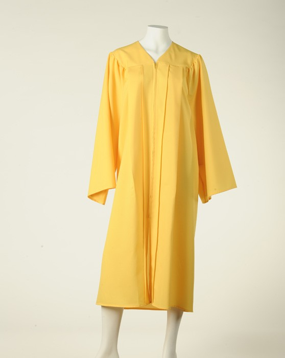 Graduation set without fluting 'Full Fit' (Lemon Yellow)