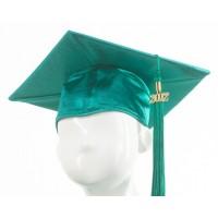 Graduation Cap - Emerald Green