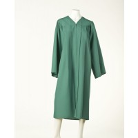 Graduation Gown - Emerald Green