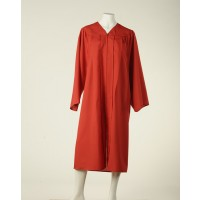 Graduation Gown - Fireman Red