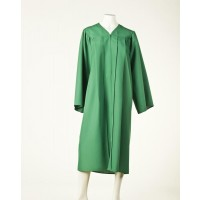 Graduation Gown - Light Emerald Green