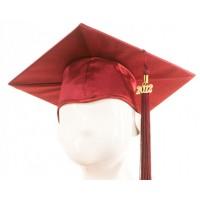 Graduation Cap - Maroon