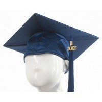 Graduation Cap - Navy