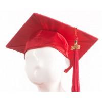 Graduation Cap - Red