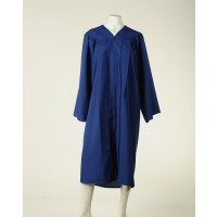 Graduation Gown - Royal Blue