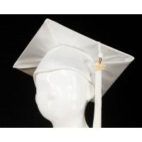 Graduation Cap - White