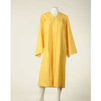 Graduation Gown  - Lemon Yellow